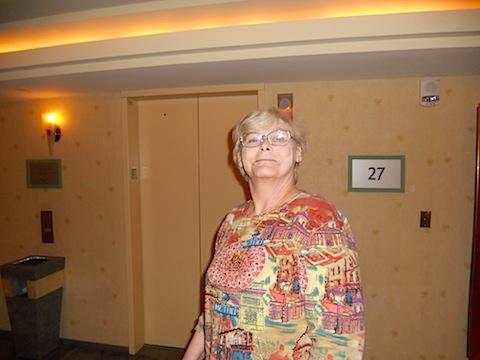 2011-01-21 Our Girl feeling 'n' looking good