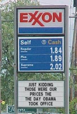 LUDDITE GAS PRICES