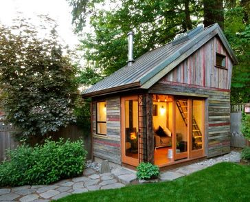 Rustic Backyard Micro House