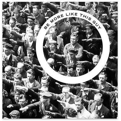 Landmesser liberty maniacs print large